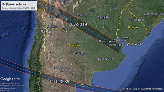 eclipse solar 27 de julio 2019