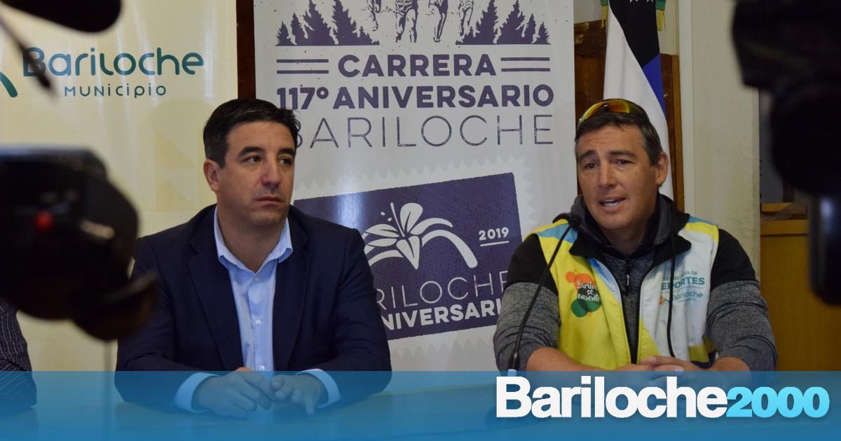 "Presentaron la carrera ""117° Aniversario de Bariloche"""